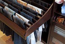 Garderoba, organizacja, przechowywanie (insp.)