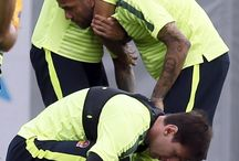 Neymar , Dani i Lionel