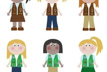 GIRL SCOUTS / by Melissa Wagner Lund