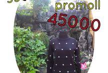 Baju diskon promo / harga promo under 50.000