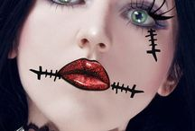 hallowen make-up