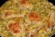 Csirkés ételek