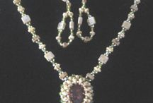 aB-did Necklaces with shaped seed beads / by I'm Loving Beads Nancy Gound