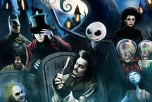 Tim Burton❤️ / Tim Burton is my favorite director. I am a huge fan of his work. It would be cool if I was a Tim Burton character