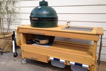 Big Green Egg Tables / by Lisa Borden