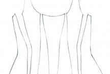 střihy - šaty, kostýmy a jiné