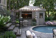 poolside shed