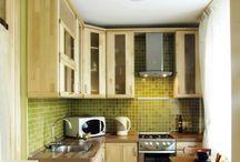Tiny dyi kitchen spaces