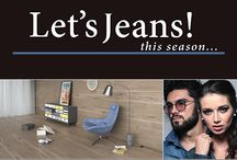 Jeans Life / Fashion & interior design with denim/jeans elements. --- Moda i wnętrza z elementami jeansu.