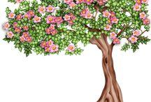 Trees/Bushes/ Leaves