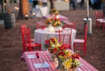 Southern Country Cook Out  / Inspiration for a gingham clad, fun to be had country cook out.