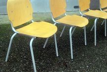 Stoelen design, vintage, retro / Industrieleel design, vintage, retro stoelen