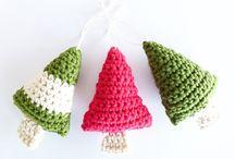 Декори крючком. Christmas crochet.
