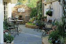 Garden patio / by Boxwood & Vine