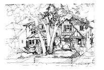 Architectural Drawings,drawings,sketches,paintings by Andrew Ludew