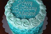 write the cake