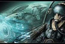 Nexus the jupiter incident / sci-fi spaceship concepts