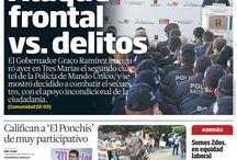 #EnPortada / Portadas del periódico líder en el Estado de Morelos