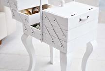 Upcycled sewing box