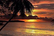 Sunset and sunrise ❤️