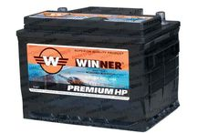 Winner Premium HP / High Performance car batteries