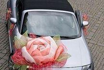 arreglos carros para la novia