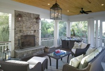 Sun Rooms, Extended living areas / by Sarah Gill @ Alderberry Hill