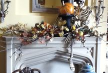 | Autumn Adoration | / Mantel Decoration Ideas for Halloween