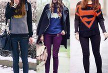 Camisetas de super heróis e bandas de Rock