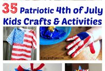 4th of July / 4th of July recipes, ideas and crafts!