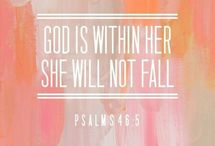 Faith / She is clothed in strength and dignity and laughs without fear of the future