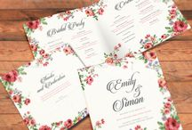 Rustic Floral Wedding Invitations Premium Download