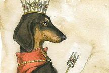 I love dachshunds!