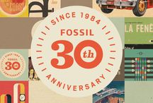 30th Anniversary / Fossil is celebrating 30 years of American modern vintage style. Discover what excites us during our anniversary year!  / by Fossil