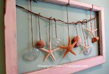 Sea Shells, starfish, sand dollars.... / by Marsha Campbell-Dunbar