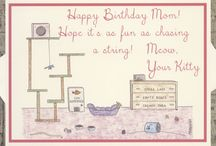 Pet Cards / Special cards from pets to their human moms and dads!