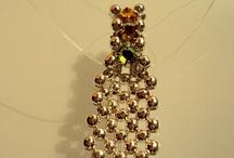 Braccialetti a fascia con perle