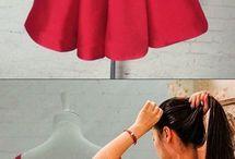 Платья из моих тканей
