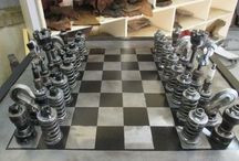 unusual chess head