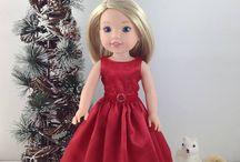 Girl dolls dress design
