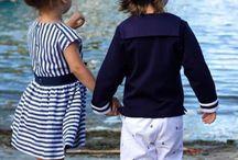 Kleider / Maritime Kinderkleider