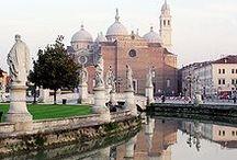 Padova / Città del Santo senza nome, del prato senza erba, del caffè senza porte.