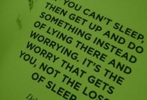 can't sleep  / by Annie Suhler