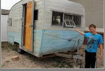 Vintage Vacation / Glamping Camper Trailers / by Christi Labrenz