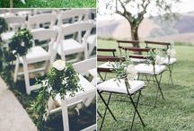 L&T outdoor ceremony / Lisa and Trevor's outdoor ceremony - ideas!