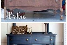 Timber Furniture Makeover