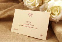 Set per nozze con cartoncino ecologico / Stampa su cartoncino liscio ecologico con grande rispetto per l'ambiente. Tutte le carte che usiamo hanno dei cicli di lavorazione che sono da considerare al 100% ecologiche. #tipidea #wedding #WeddingInvitation #WeddingKit #Matrimonio #InvitiMatrimonio