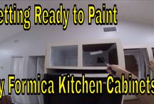 DIY- Kitchen Cabinet Painting