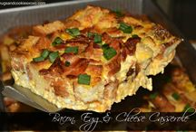 Overnight Egg and Cheese Bake