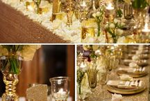 Gold & Cream Wedding Ideas